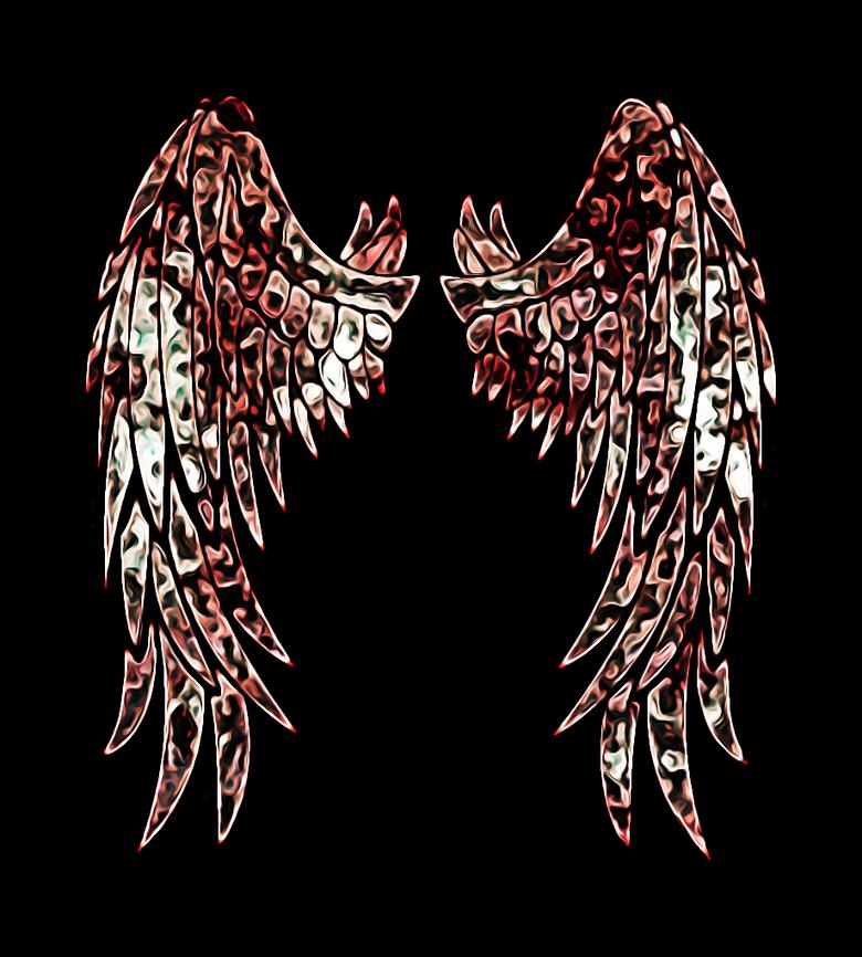 Bruised wings
