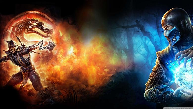 Mortal Kombat Scorpion vs Sub