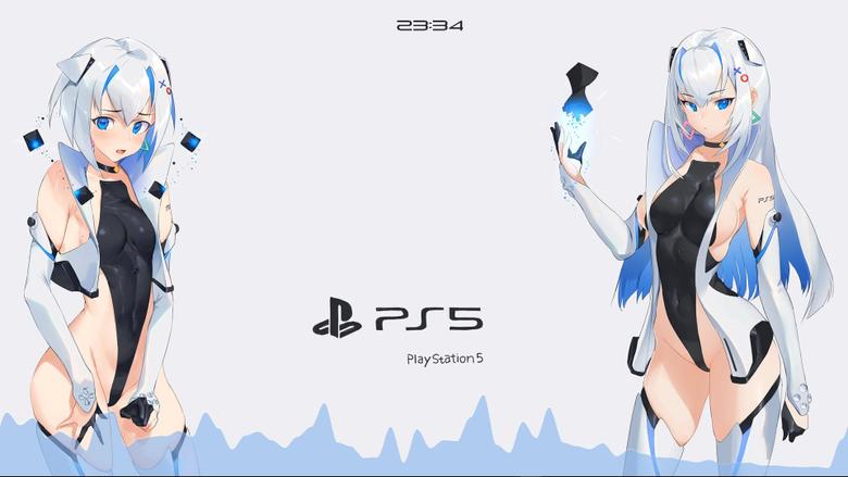 Playstation 5 Anime Girls