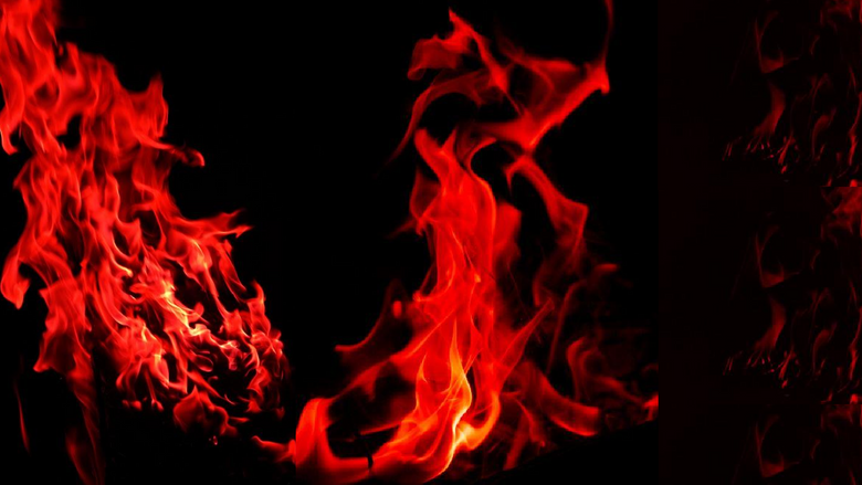 Red aesthetic flames wallpapergate com