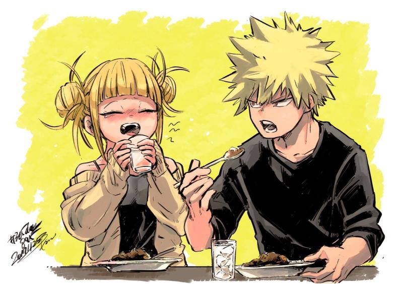 Eating food UwU