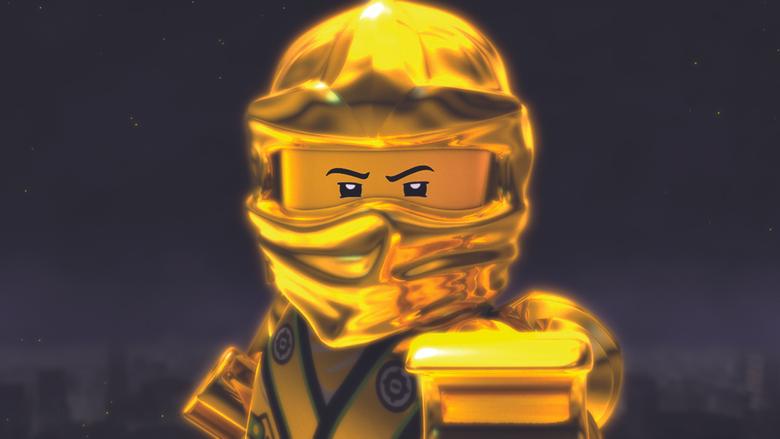 lego ninjago golden ninja lloyed