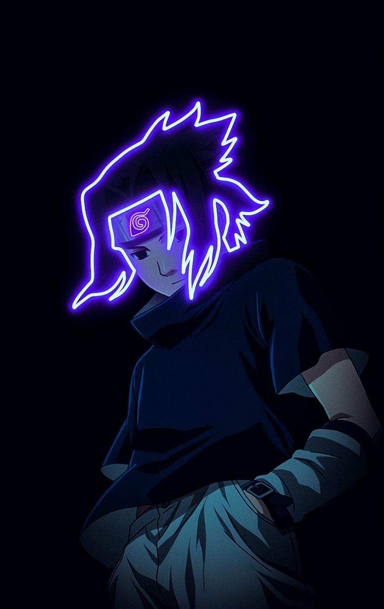 Anime Naruto Sasuke Uchiha Wallpaper HD