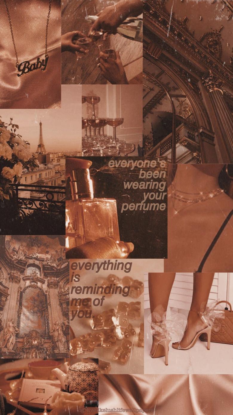 Bish I spayed perfumé in my eyes