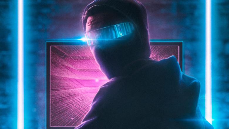 neon hacker