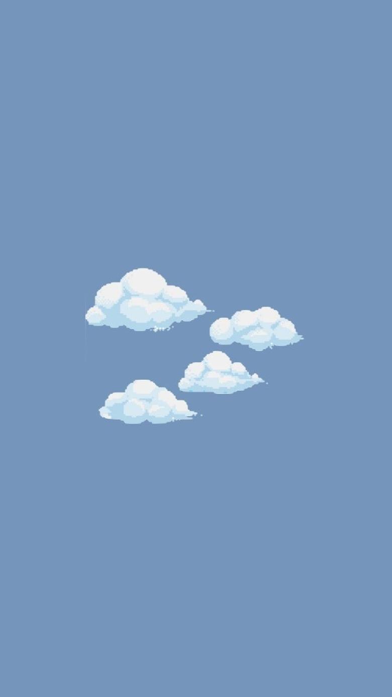 Cloudy Phone Screen