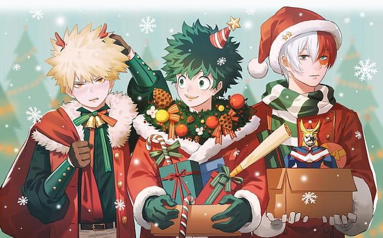 Bnha Christmas Wallpaper Original Not requested