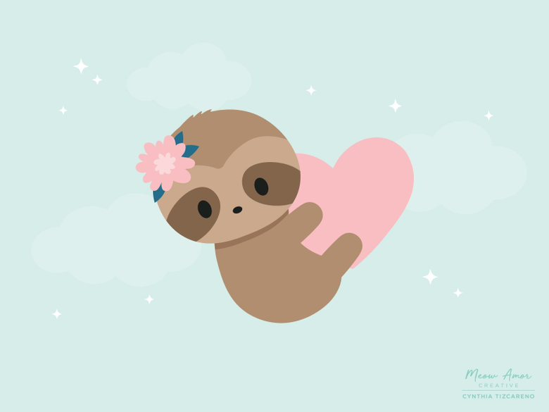Cute Sloth Wallpapers