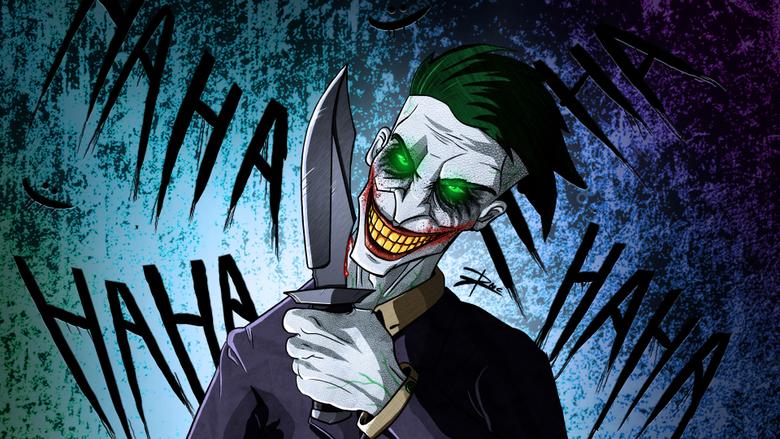 Crazy Joker Art 4k supervillain wallpapers joker wallpapers hd