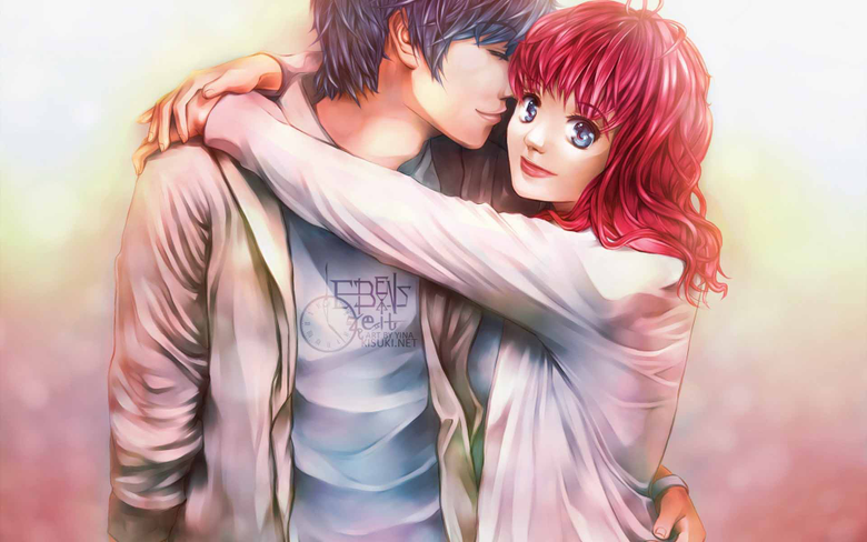 Beautiful Anime Couple Wallpapers HD Image One HD Wallpapers