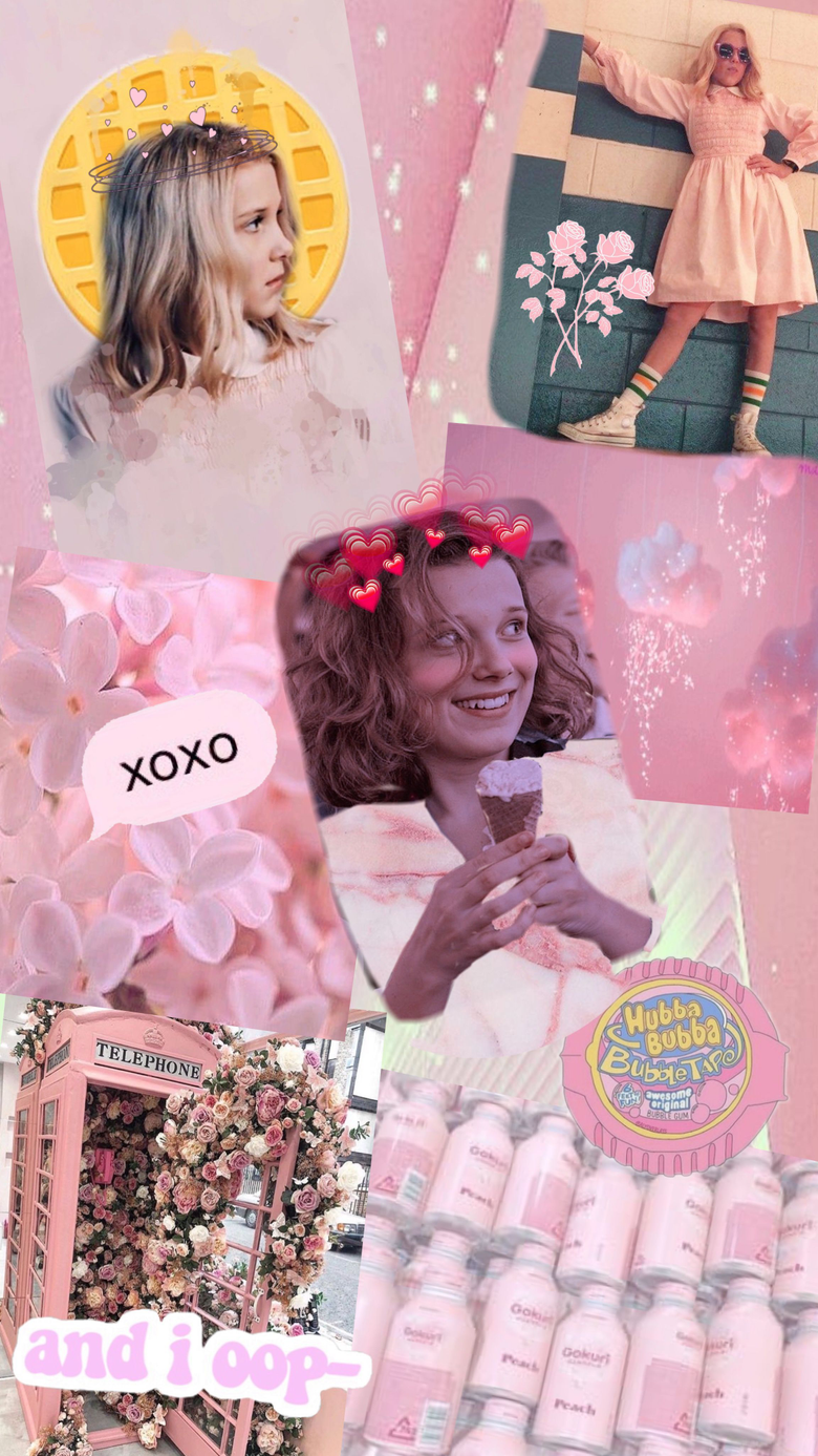 Eleven collage aesthetic