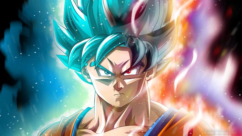 Goku is godly