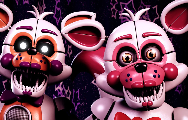 Wallpapers animals the game doll pair toothy Five Nights at Freddy s mechanical dolls Five nights at Freddy s image for desktop section
