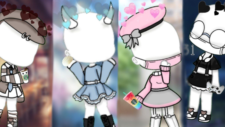 new gacha outfit