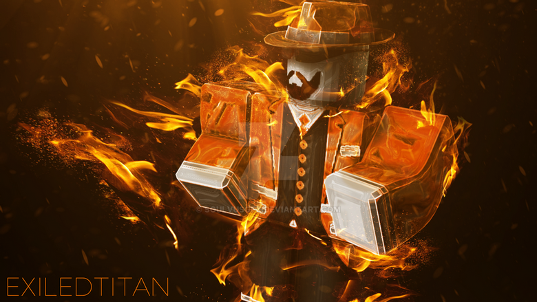 roblox fire character