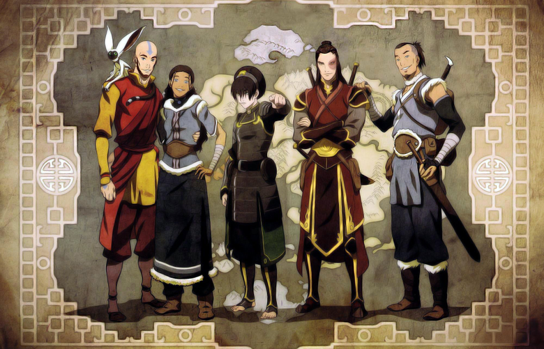 Team Avatar ALL GROWN UP