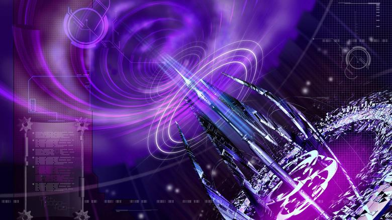purple portal generator