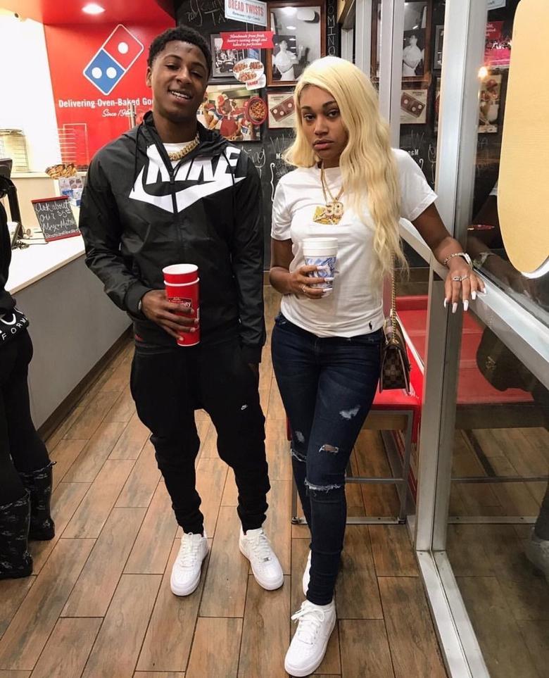 Nba Youngboy and Jania babymama