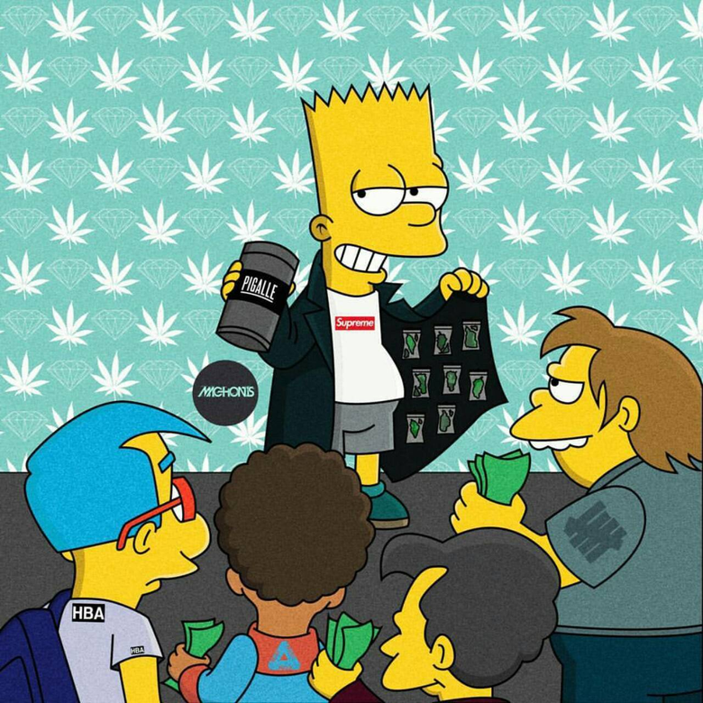 Bart Simpson Wallpapers by CesarBl32