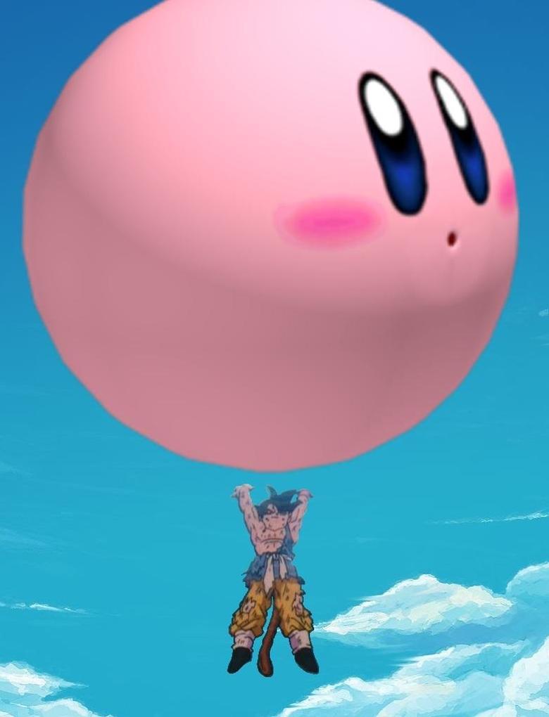 goku unleashes his kirby bomb jpg