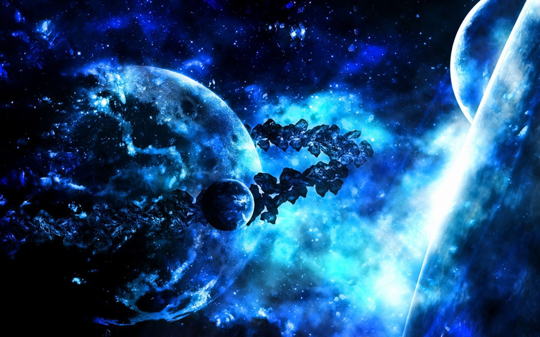 blue planets of coolness
