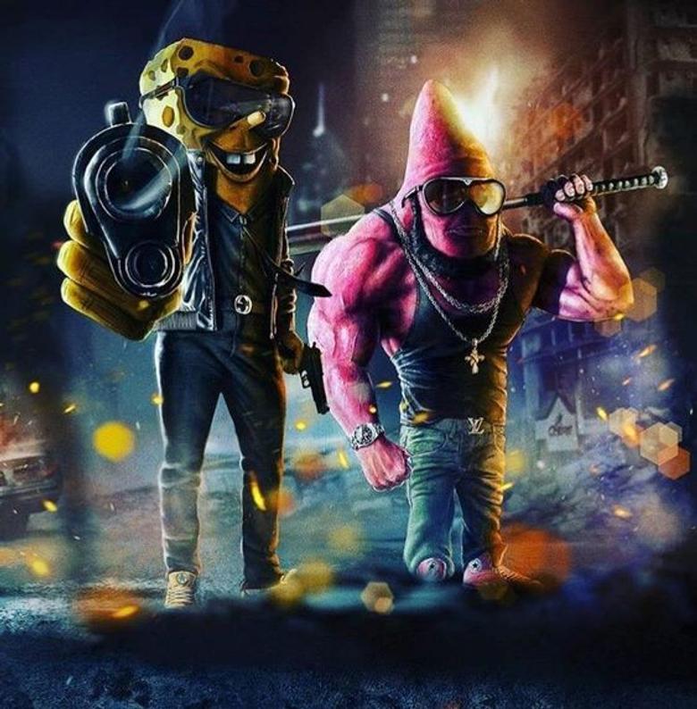 Spongebob GanGsta