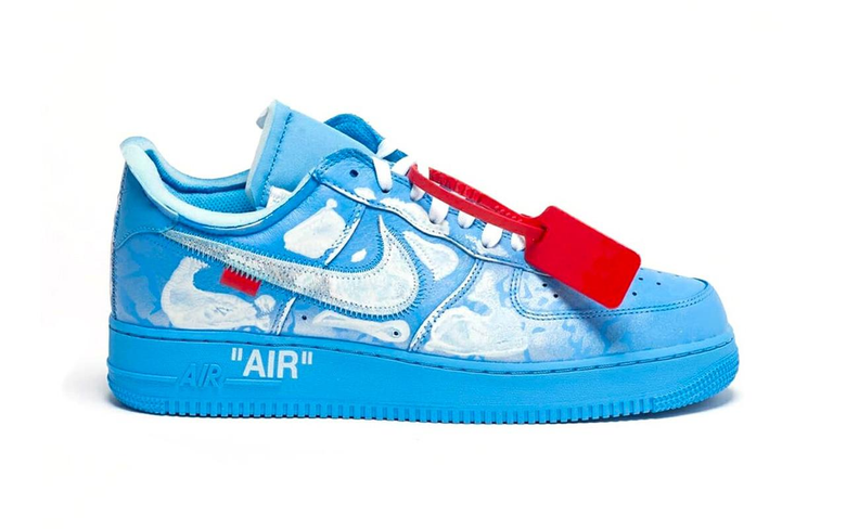 Nike Air Force 1 07 Inked by Cassius Hirst for Virgil Abloh