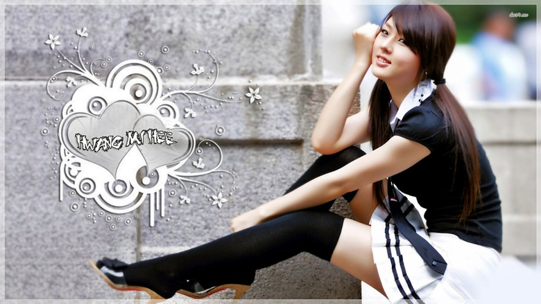 Hwang School Beautiful Asian Girl wallpapers
