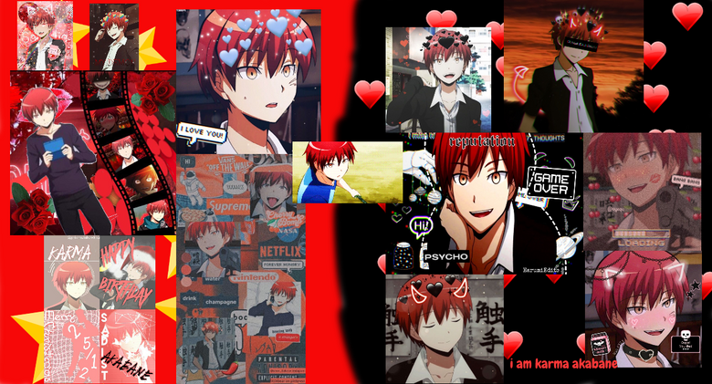 I AM KARMA AKABANE AND MY SPIRIT ANIMALE IS A SNEAKY FAST CAT AND I AM A SUPER COOL ASSIASIN
