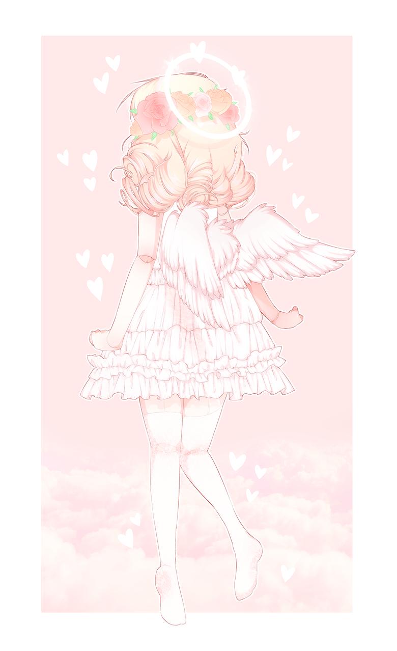 yeagart sweet angel angelic aesthetic cute