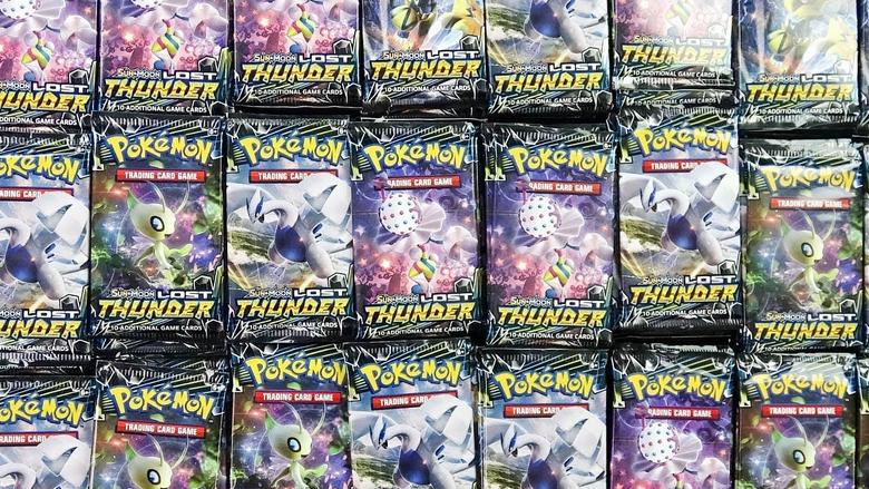 Opening 1 000 Pokemon Packs of Lost Thunder