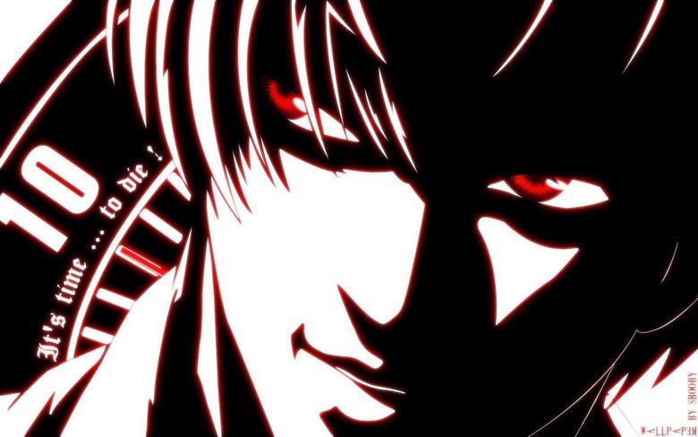 Kira Death Note Japanese Manga Cartoons Entertainment