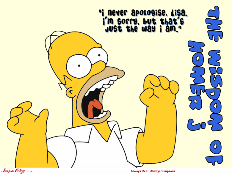 Funny Wallpapers Simpsons