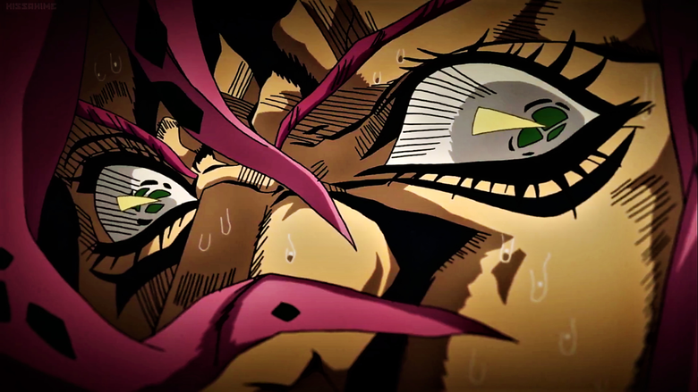 Diavolo the Man With Broken Pupils