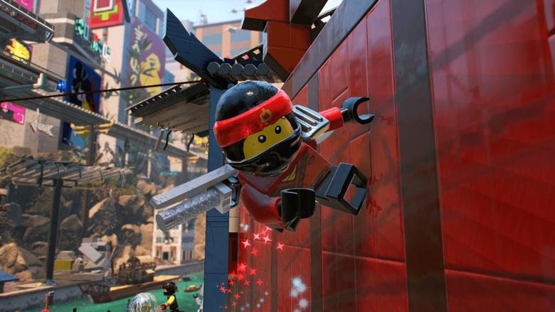 The LEGO Ninjago Movie Video Game Gets New Trailer Highlighting