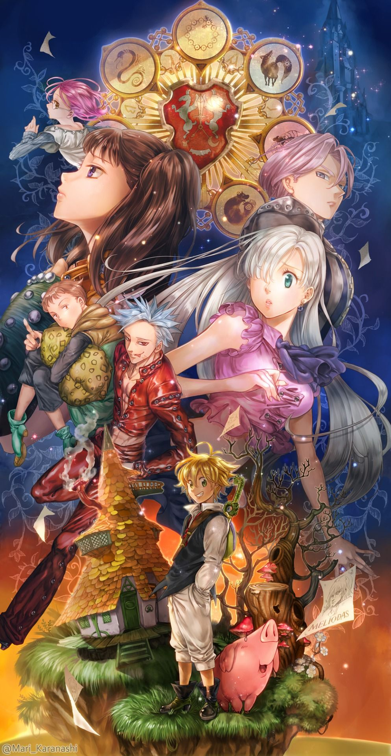 The Seven Deadly Sins wallpapers wp400268 live