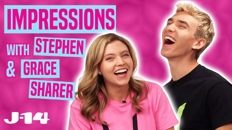 Watch YouTubers Stephen And Grace Sharer Do Celebrity Impressions