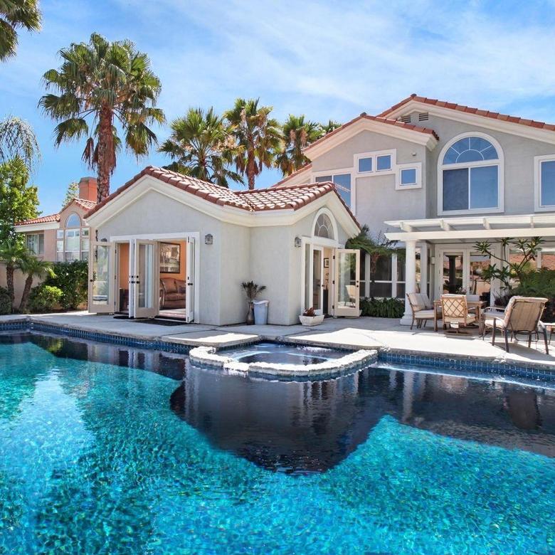 big houses with pools