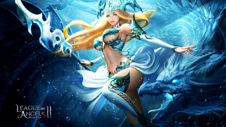 League Of Angels 2 characters from video game Lydia Beautiful girl