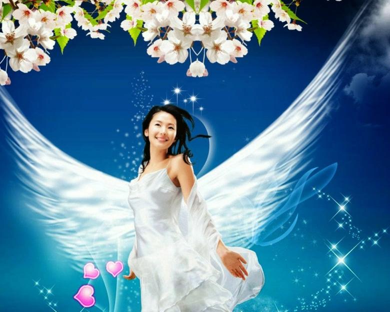 Hd Beautiful Angel Wallpapers