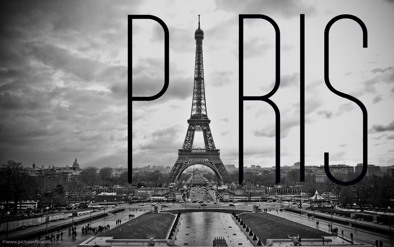 Black And White Paris Wallpapers For Android For Desktop Wallpapers