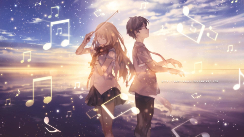 Your Lie in April Computer Wallpapers
