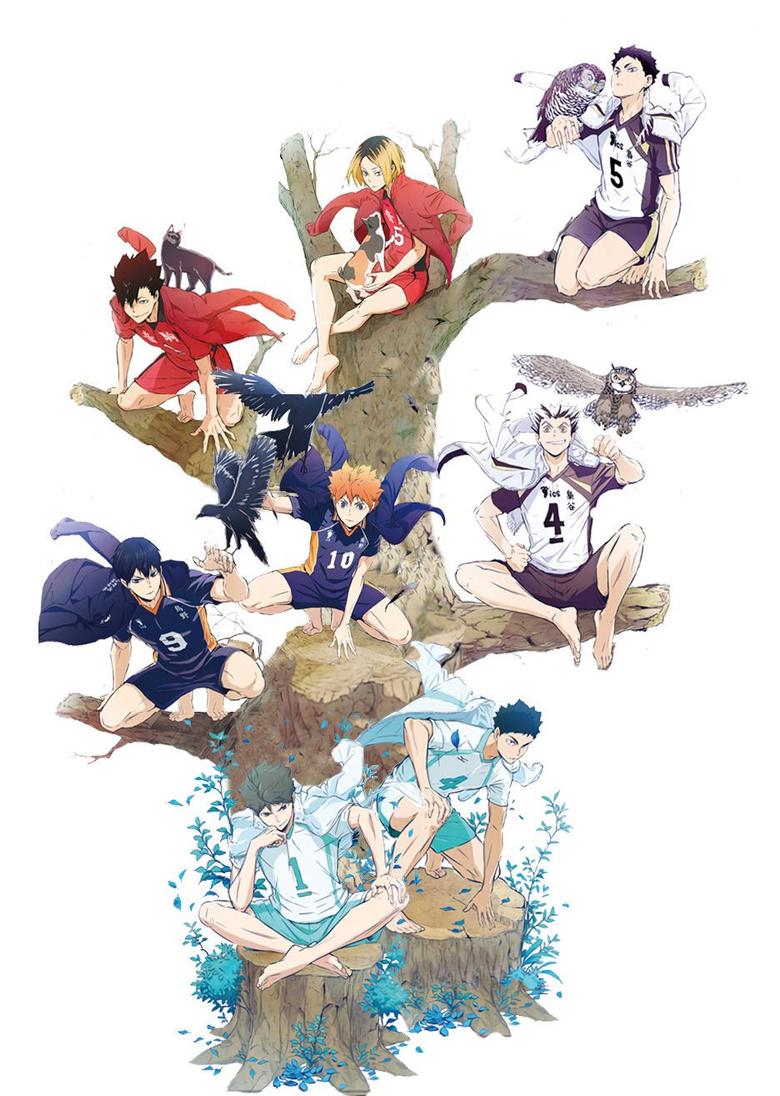 Haikyuu Jump Festa Art haikyuu