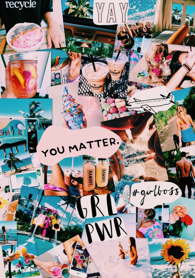 Egirl Aesthetic Wallpapers Collage