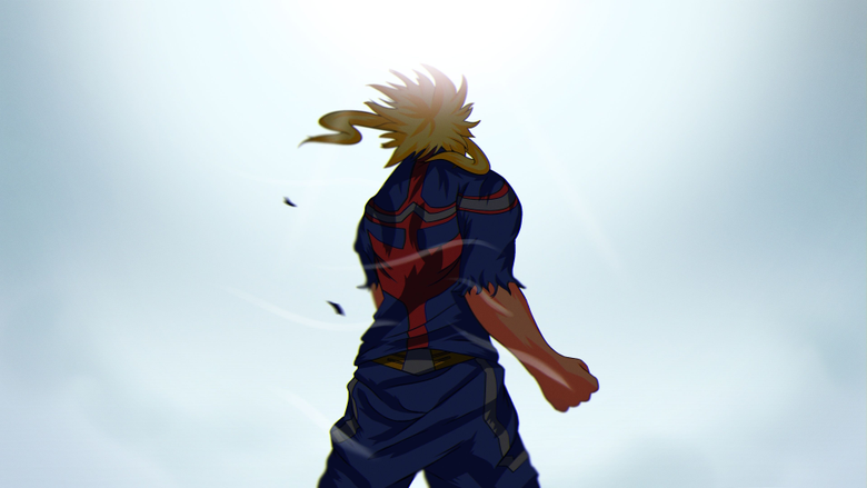 My Hero Academia All Might 4K Wallpapers