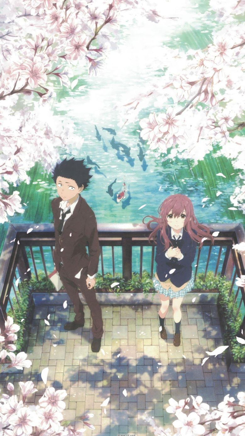 A Silent Voice anime phone wallpapers