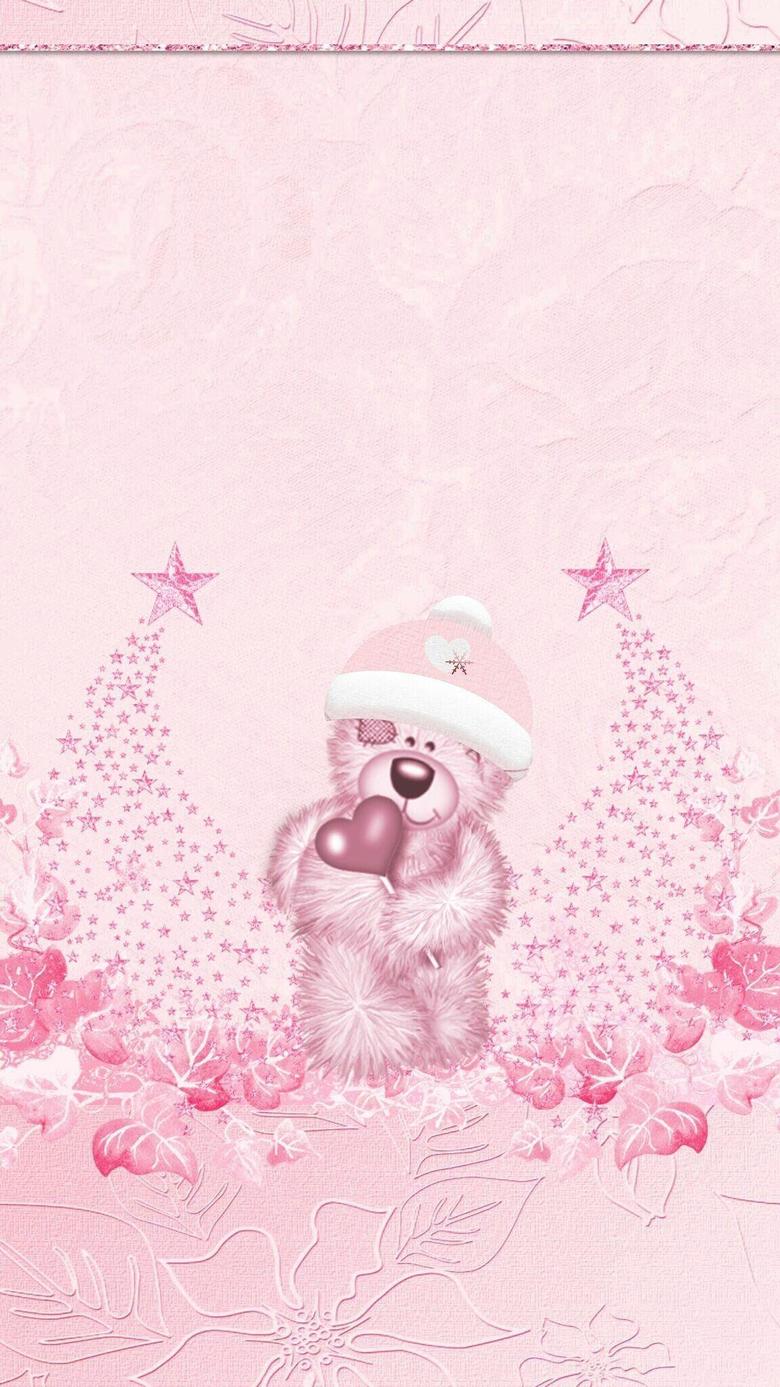 Pink Christmas Wallpapers