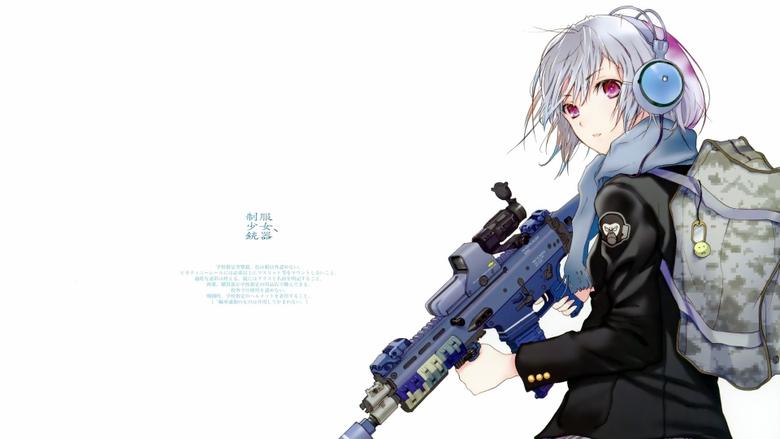 Cool army girl