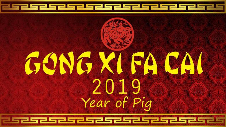 Gong Xi Fa Cai 2019 Wallpapers