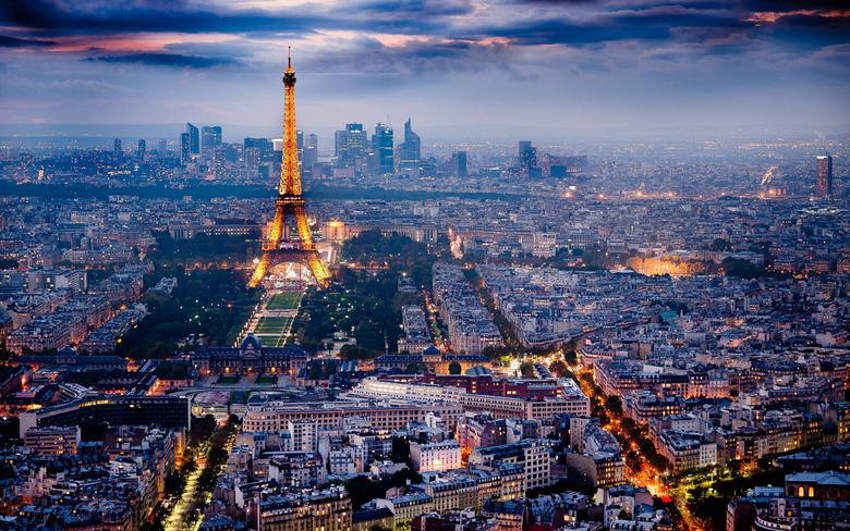 City Landscape Eiffel Tower Paris France Top travel lists